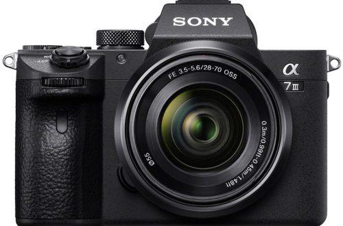 Для камер Sony A7rIII и A7III вышло значительное обновление прошивки