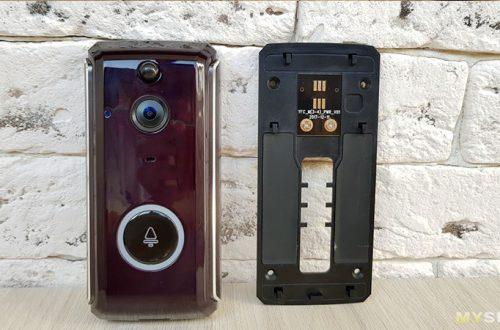 Wi-Fi звонок/домофон MR101 с ночным видением, датчиком движения и мобильным приложением