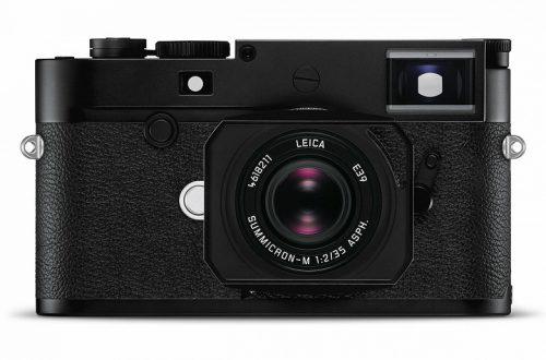 Дальномерная камера Leica M10-D не имеет дисплея