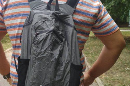Складной сверхкомпактный рюкзак Naturehike на 18 литров