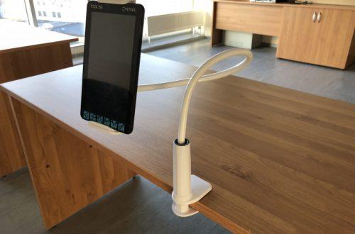 Гибкий держатель планшета/смартфона к столу