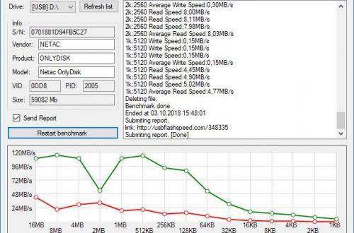 USB 3.0 флешка Netac U903 64 Гб