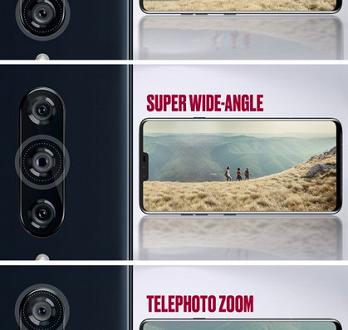 Все пять объективов LG V40 ThinQ перечислены на официальных изображениях
