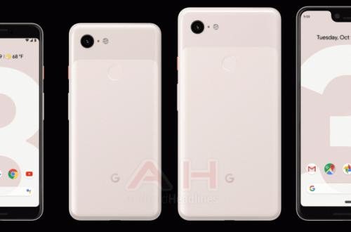 Смартфоны Google Pixel 3 получат неожиданное цветовое исполнение