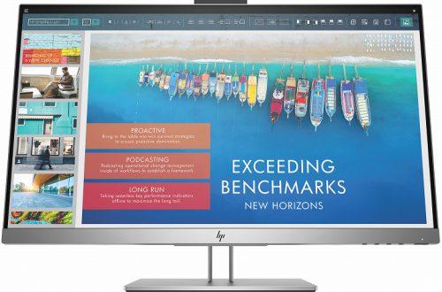 Монитор HP EliteDisplay E243d можно использовать в качестве док-станции для ноутбуков