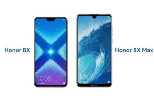Большие смартфоны Honor 8X и 8X Max получили функциональное обновление