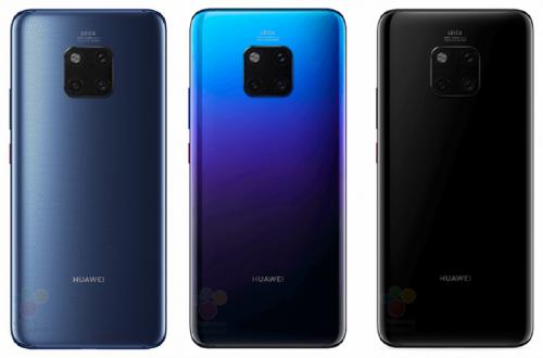 Стали известны цены на смартфоны Huawei Mate 20 и Mate 20 Pro