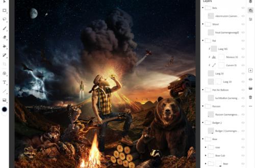Adobe показала полноценный Photoshop для iPad