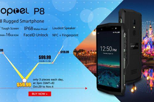 Представлен самый дешевый защищенный смартфон с функцией распознавания лиц, NFC и громким динамиком