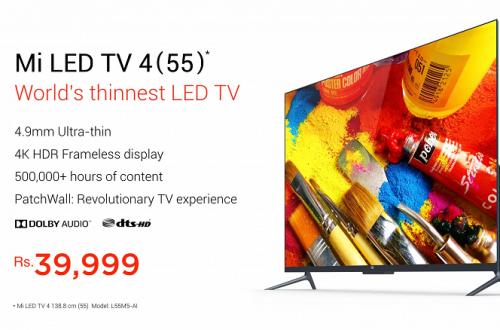 Xiaomi продолжает уверенно возглавлять рынок умных телевизоров Индии