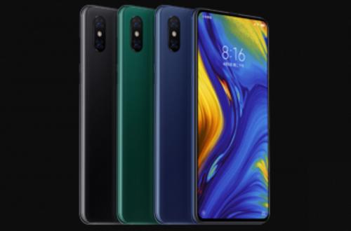 Официальный рендер подтверждает три цвета смартфона Xiaomi Mi Mix 3