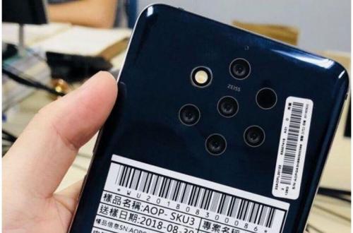 Флагманский камерофон Nokia выйдет под названием Nokia 9 PureView