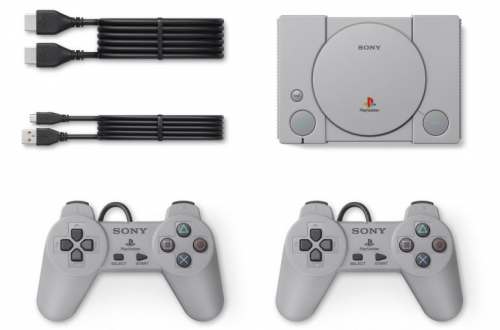 Sony раскрыла все подробности о мини-консоли PlayStation Classic