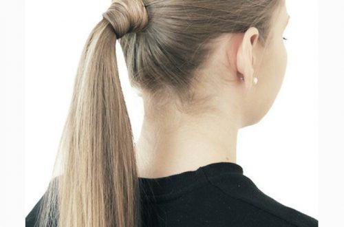 Как сделать простой хвост из длинных волос инструкция