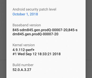 Экс-флагман Sony Xperia XZ2 получил ОС Android 9.0 Pie ранее обещанного срока