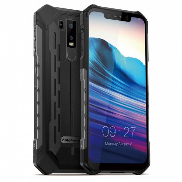 Ulefone показала новый защищенный и градиентный смартфоны