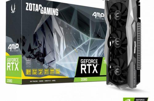 Серия 3D-карт Zotac GeForce RTX 2080 AMP включает модели Extreme и Core