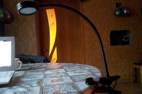 Настольная LED лампа на прищепке в сравнении с другими моделями