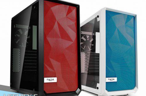 Fractal Design предлагает разнообразить вид ПК в корпусах Meshify C с помощью съемных сетчатых панелей