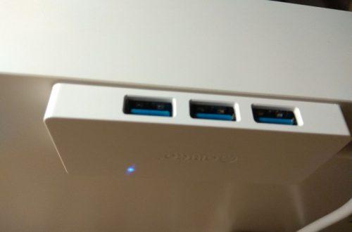 USB портов много не бывает. USB3.0 хаб ORICO HS4U + кабель-удлинитель.