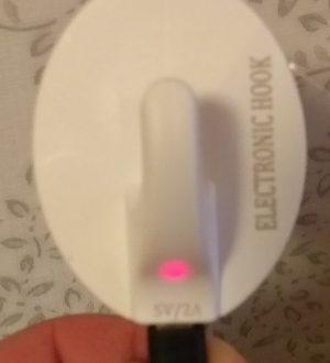 iGlue™ SH-001 - настенный USB крючок на 2 ампера - снасть для троллинга, но не рыболовная