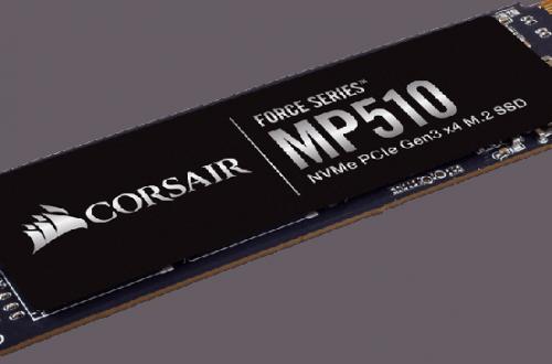 Скорость чтения SSD Corsair Force Series MP510 типоразмера M.2 достигает 3480 МБ/с