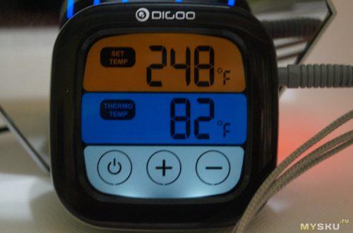Термометр Digoo DG-FT2103 с зондом и bluetooth.