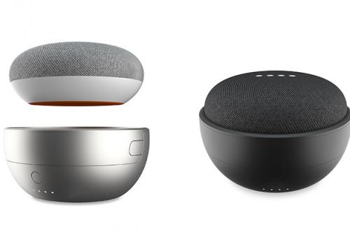 Аксессуар JOT Battery Base делает умную колонку Google Home Mini беспроводной за $35