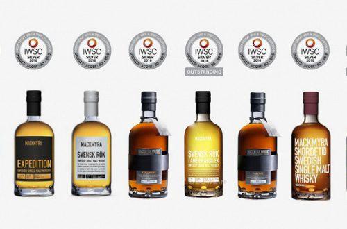 Бутылки виски Mackmyra получат метки NFC, разработанные Thinfilm