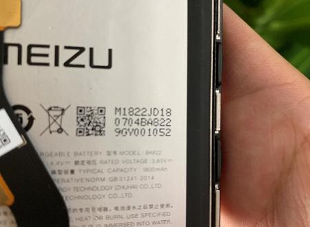 Бюджетный камерофон Meizu Note 8 получит аккумулятор емкостью 3600  мА•ч