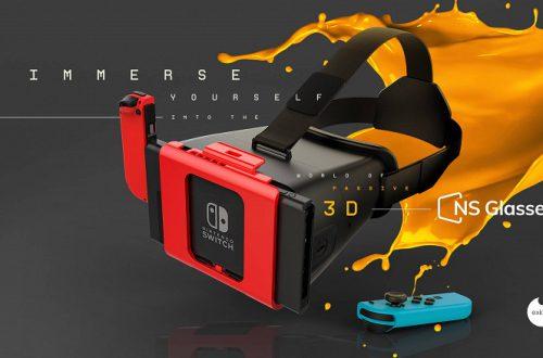 Гарнитура NS Glasses превратит консоль Nintendo Switch в устройство виртуальной реальности