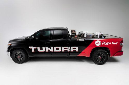 Tundra PIE Pro — мобильная роботизированная пиццерия на основе водородного пикапа Toyota Tundra SR5