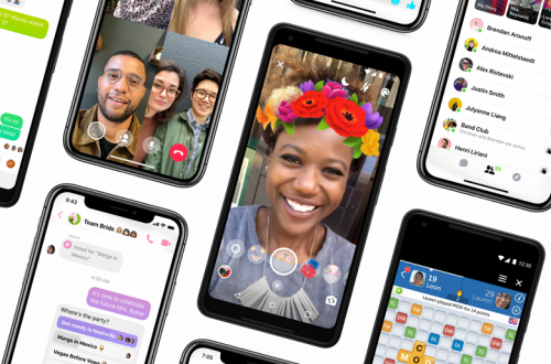 Представлено приложение Facebook Messenger 4, которое стало похоже на Skype
