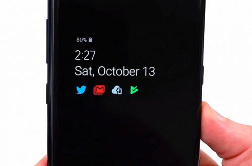 Android 9.0 Pie принесёт смартфонам Samsung цветной режим Always-On Display