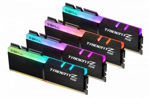 G.Skill демонстрирует комплекты модулей памяти DDR4-4800 и DDR4-4500 объемом 16 и 32 ГБ соответственно для плат на чипсете Intel Z390