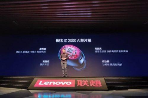 Представлены наушники Lenovo Air Wireless Bluetooth: антенна из графена и искусственный интеллект за $43