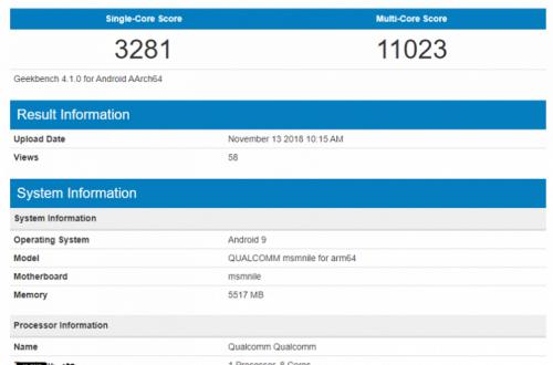 Превосходство Snapdragon 8150 над Snapdragon 845 становится куда более очевидным