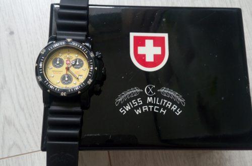 Яркие дайверские часы CX Swiss Military SEEWOLF I SCUBA NERO