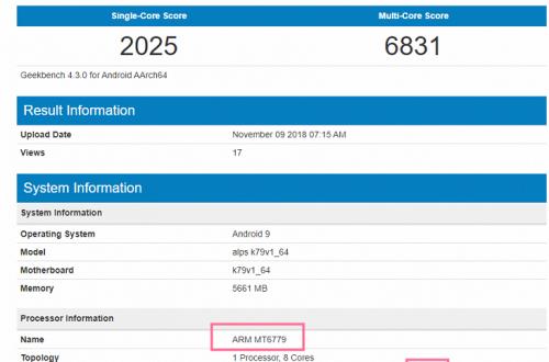 В Сети появились результаты тестирования новой SoC MediaTek, которая может называться Helio X40 или Helio P80