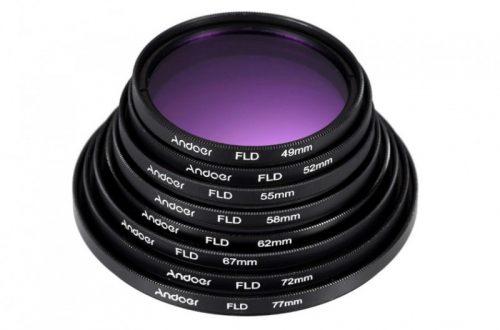 Комплект аксессуаров и фильтров Andoer для фотоаппарата (72мм)