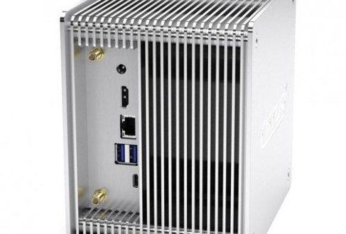 Мини-ПК cirrus7 Nimbini 2.5 на однокристальной системе Intel Coffee Lake имеет пассивное охлаждение
