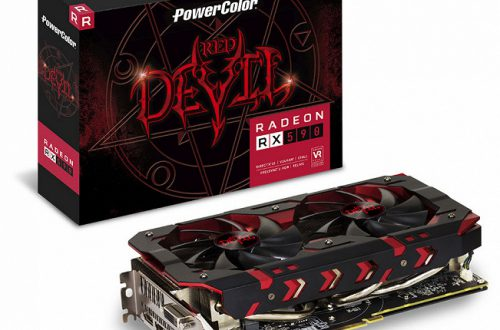 Представлена 3D-карта PowerColor Red Devil RX 590 8GB GDDR5
