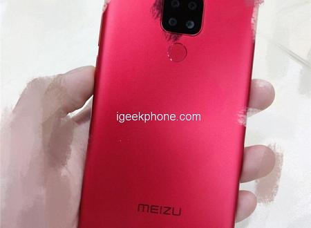 Meizu Note 8 Plus станет вторым смартфоном с четырьмя модулями в основной камере