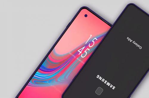Смартфон Samsung Galaxy A8S с дырявым экраном — трижды первый