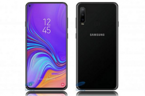 Дырявый экран для смартфона Samsung Galaxy A8s производит не Samsung Display