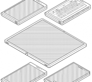 Появились эскизы новых сгибающихся смартфонов Samsung
