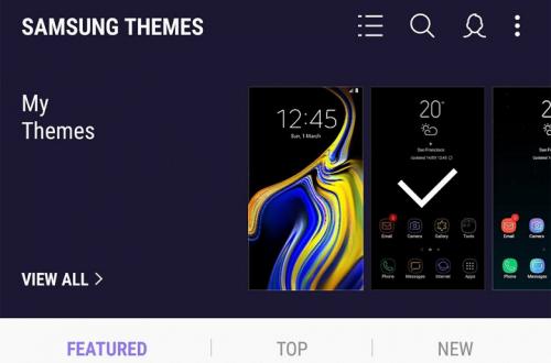 Бесплатных тем для смартфонов Samsung Galaxy больше не будет