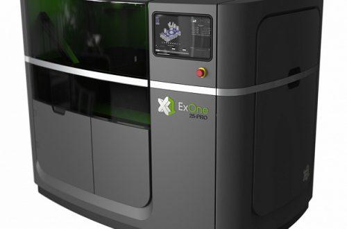Начат прием заказов на промышленные 3D-принтеры ExOne X1 25PRO, «печатающие» из металла