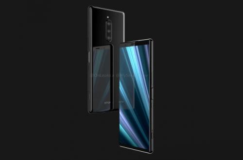 Появились изображения и видео смартфона Sony Xperia XZ4