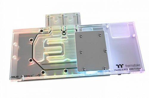 Подсветкой водоблоков Thermaltake Pacific V-RTX 2080 Plus (ASUS ROG) и Pacific V-RTX 2080Ti Plus (ASUS ROG) можно управлять голосовыми командами